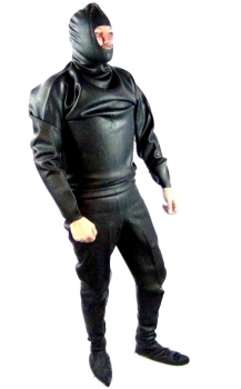 Drysuit with hood